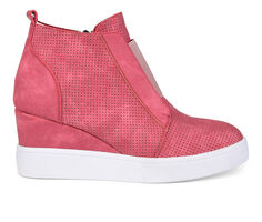 Women's Journee Collection Clara Wedge Sneakers