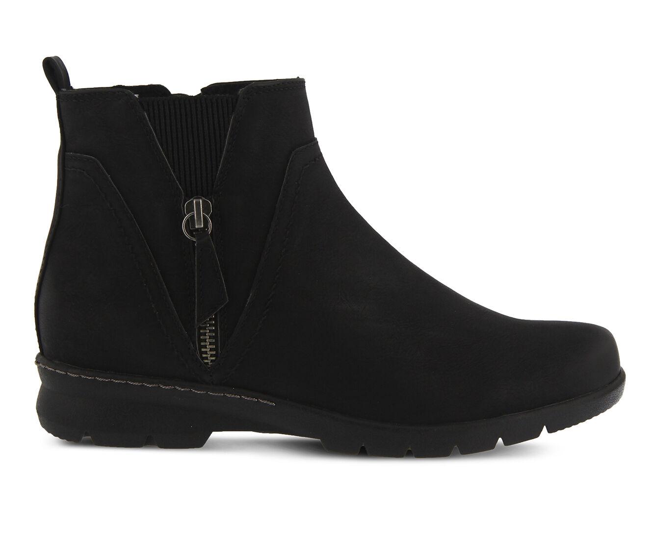 Women's SPRING STEP Yili Booties Black