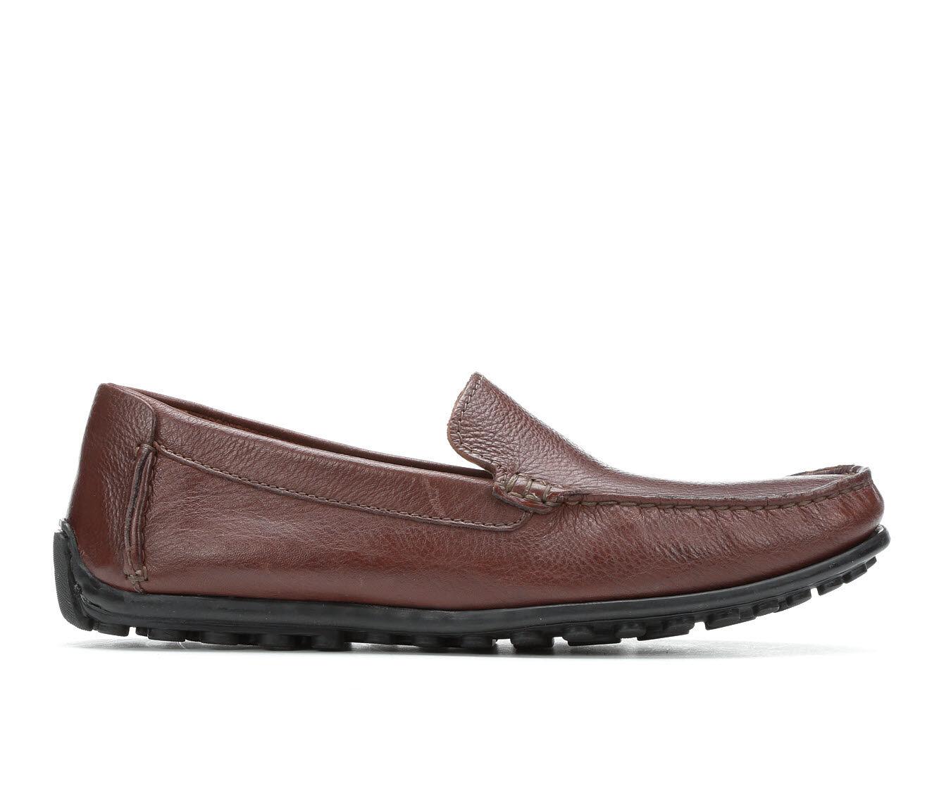 UK Outlet Men's Clarks Hamilton Free Loafers Cognac