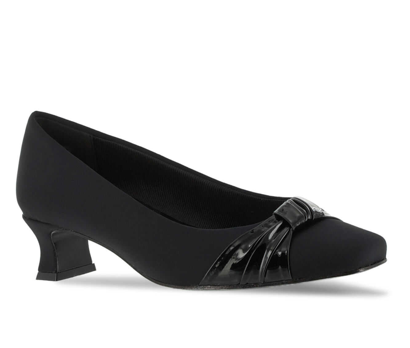 Women's Easy Street Waive Shoes Black Micro/Pat