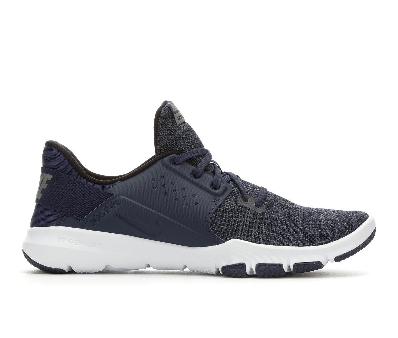 cheap wholesale Men's Nike Flex Control TR3 Training Shoes Nvy/Wht 400