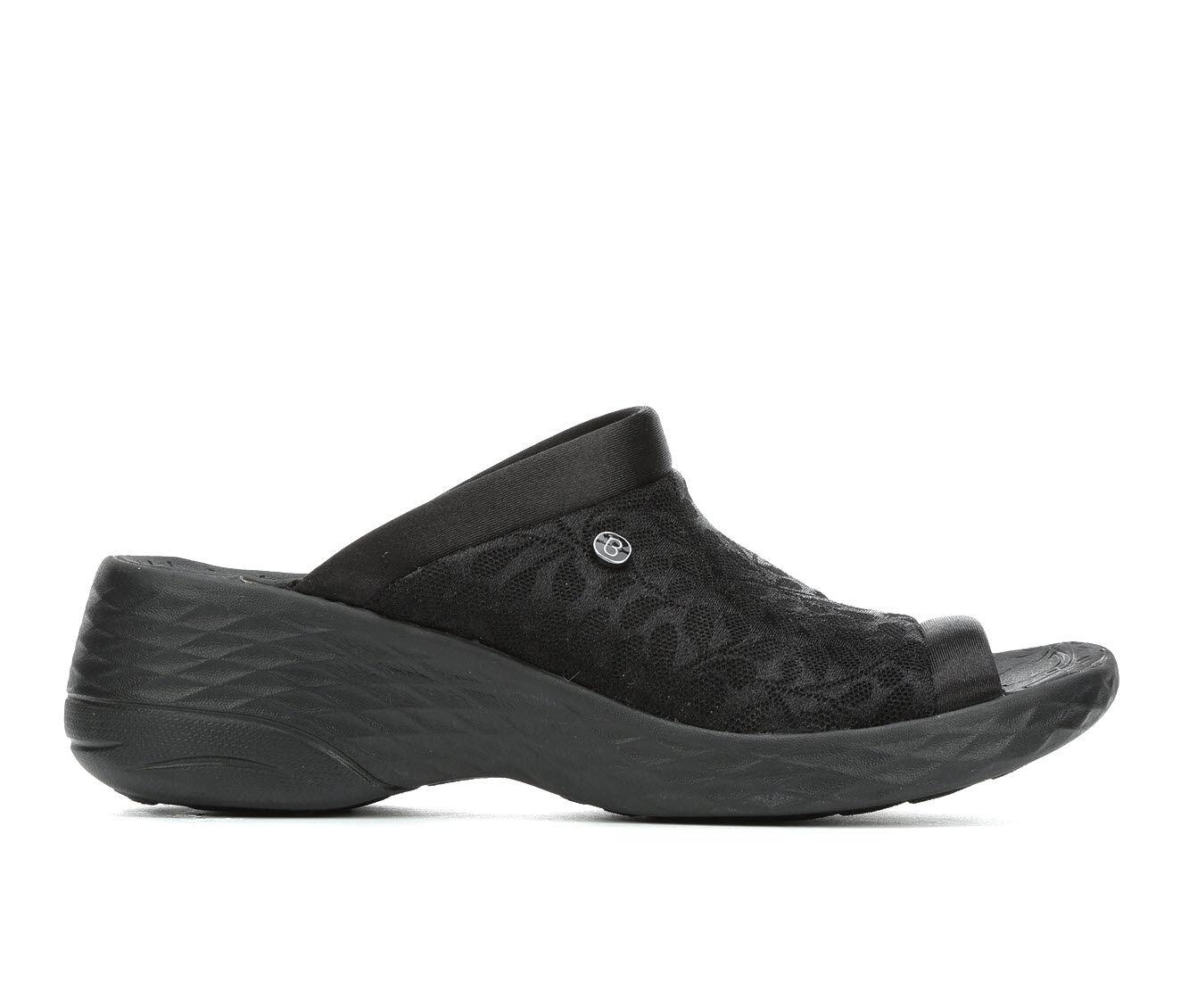 Worldwide Women's BZEES Jubilee Sandals Black