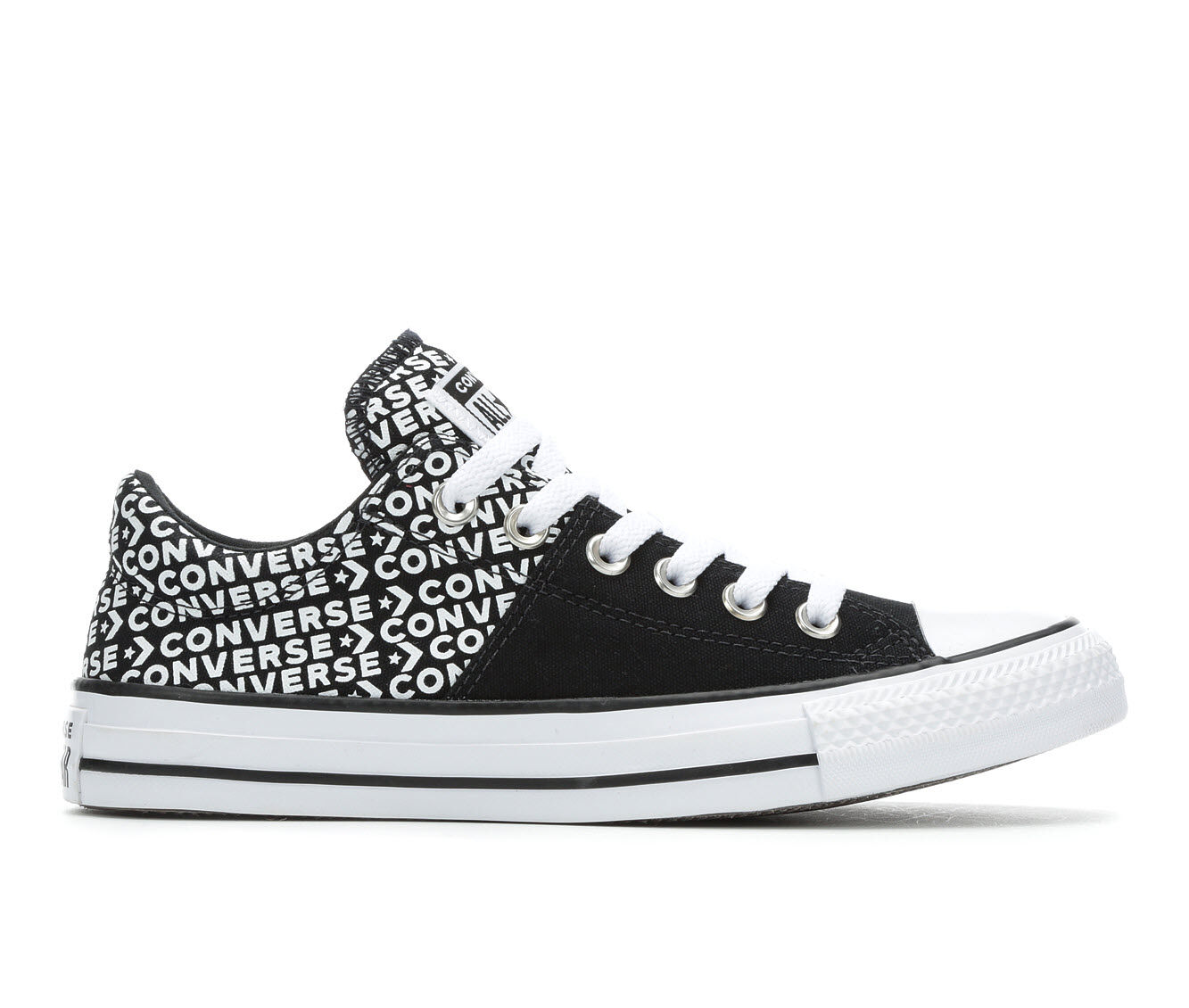 Women's Converse Chuck Taylor All Star Madison Wordmark Sneakers Black/White