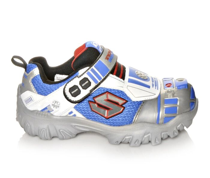 Boys' Skechers Damager III Astromech 10.5-3 Slip-On Sneakers