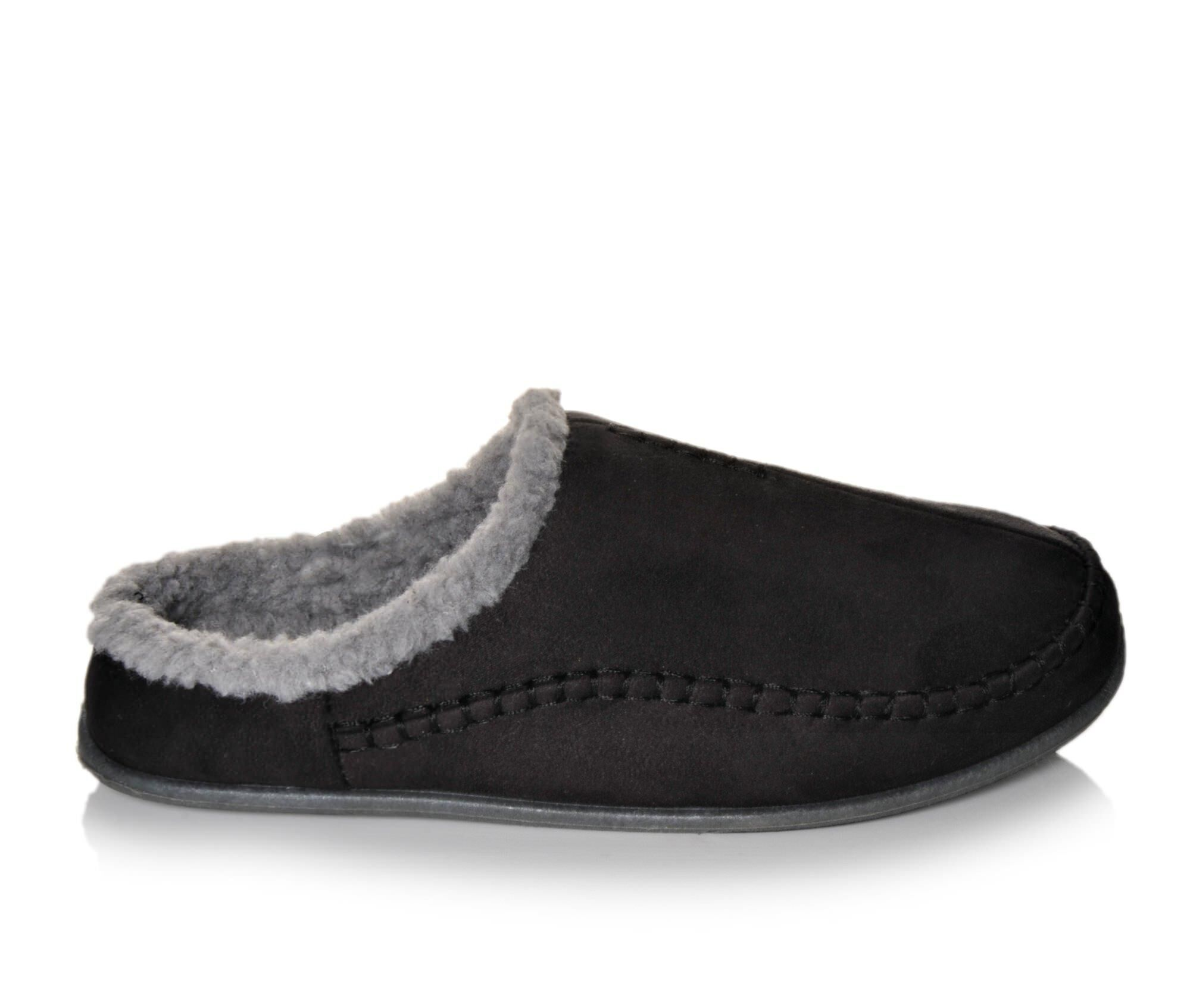 Deer Stags Nordic Slippers Black
