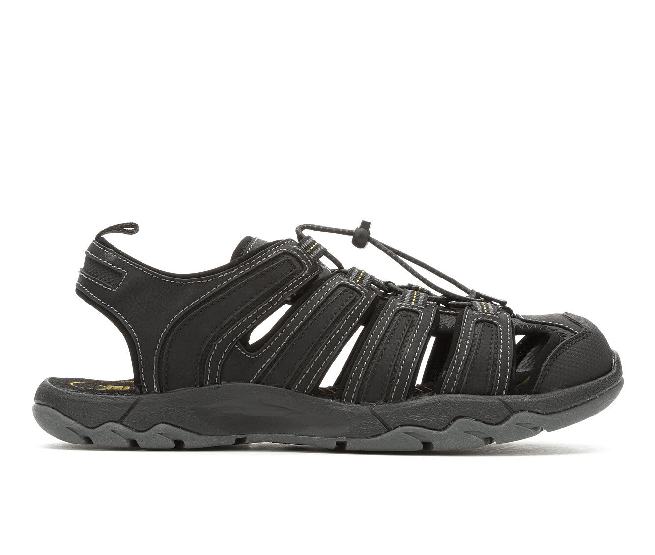 Price Reduced Men's Gotcha Cedar Hiking Sandals Black