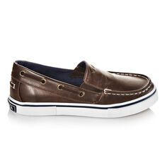 Boys' Nautica Doubloon Leather 13-6 Boat Shoes