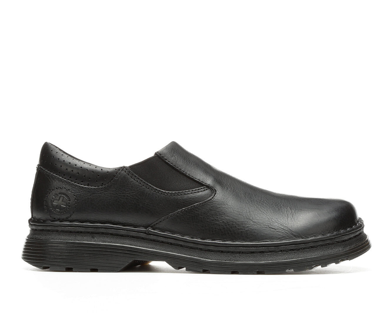 summer styles Men's Dr. Martens Orson Slip On Plain Toe Loafers Black