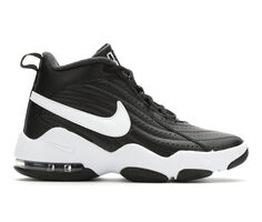 Boys' Nike Air Core Force 3.5-7 High Top Basketball Shoes