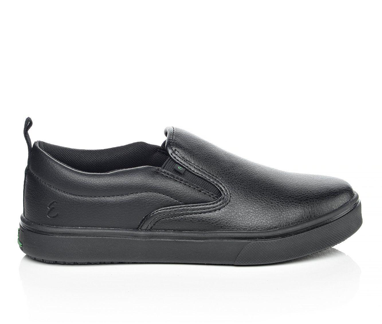 Women's Emeril Lagasse Royal Ladies Slip Resistant Shoes Black Leather