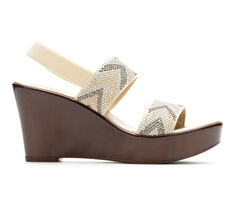 Women's Italian Shoemakers Emery Wedge Sandals