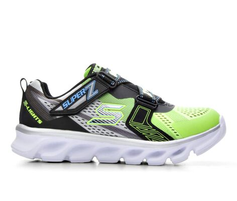 Boys' Skechers S-Lights-Hypno-Flash 10.5-3 Light-Up Sneakers