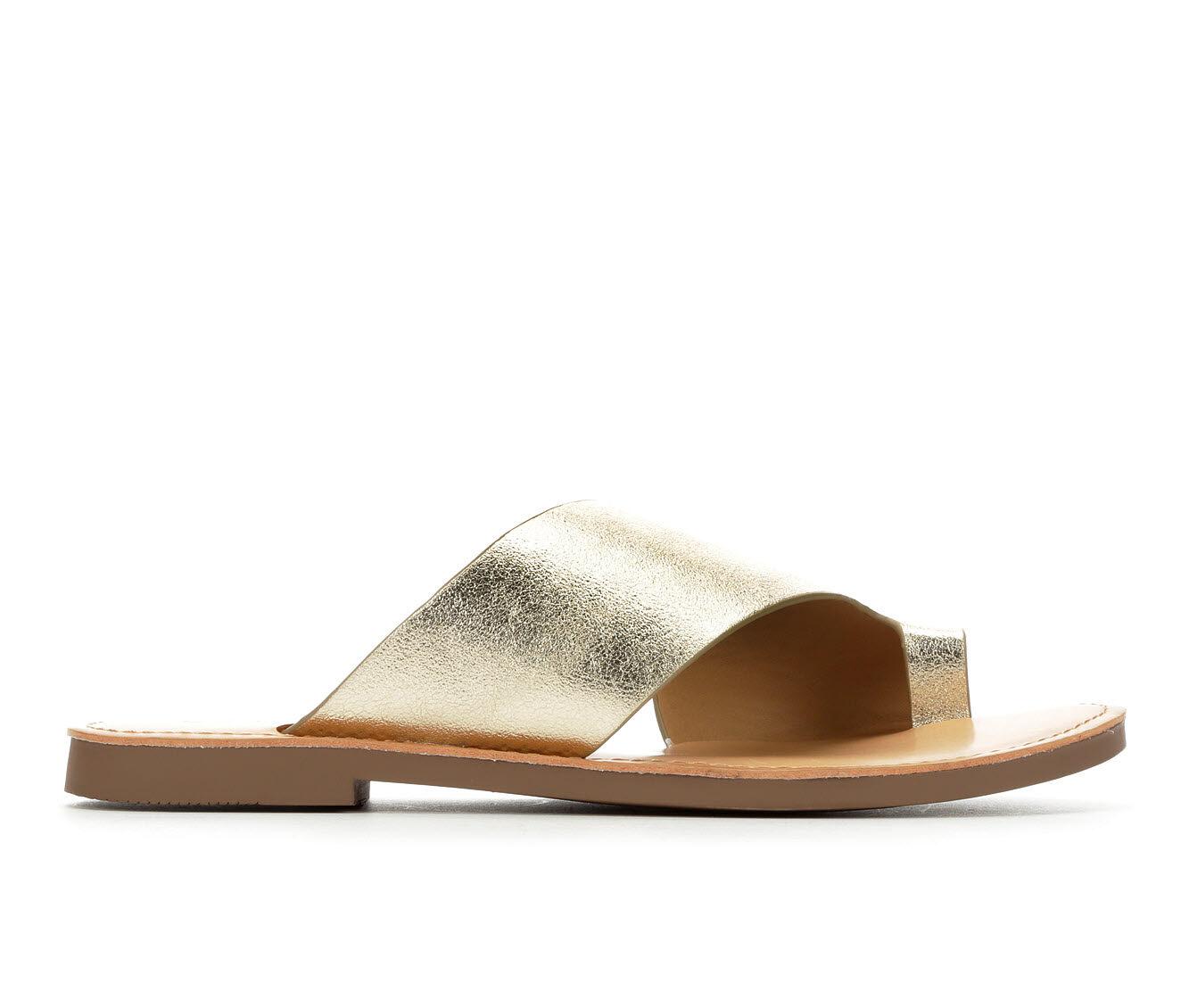 Women's Y-Not Heading Sandals Lt Gold Paris