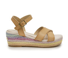 Girls' Nine West Little Kid & Big Kid Lara Platform Sandals