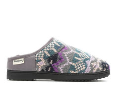 Dearfoams Fairisle High Vamp Clog Slippers