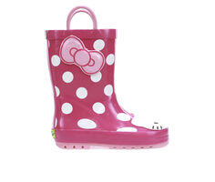 Girls' Western Chief Toddler Hello Kitty Cutie Dot Rain Boots