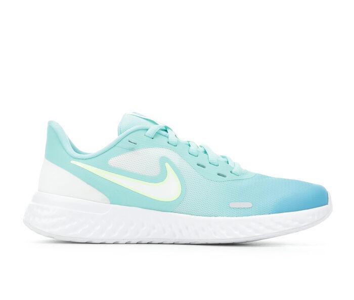 Girls' Nike Big Kid Revolution 5 Print Running Shoes