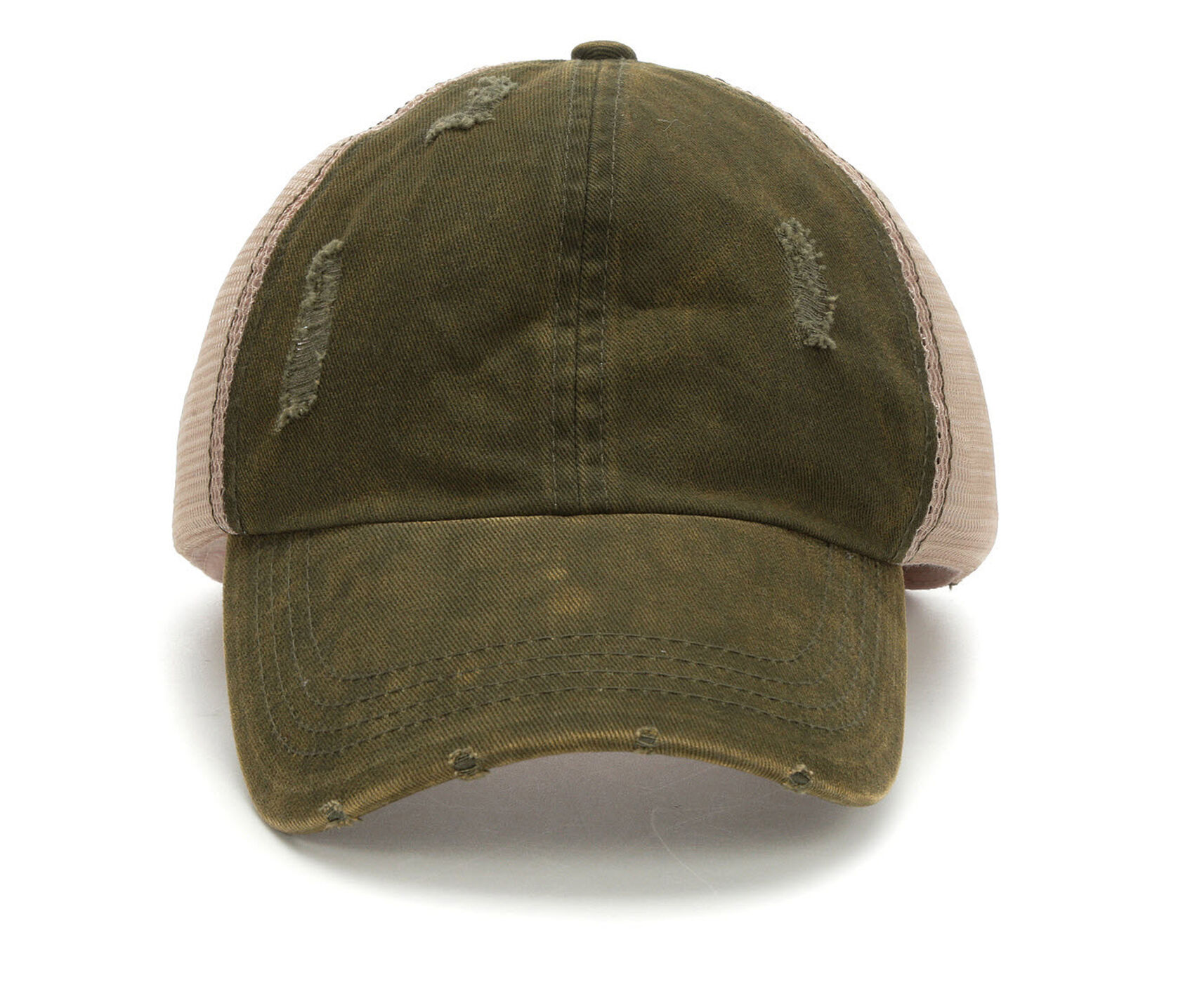 David and Young Washed Distressed Trucker Hat  ad2d22b8f80