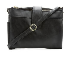Bueno Of California Elk Multi Zip Crossbody