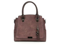 Bueno Of California Satchel Handbag with Zip