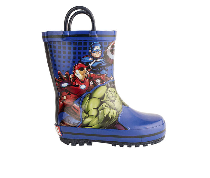 Boys' Marvel Toddler & Little Kid Avengers Rain Boots
