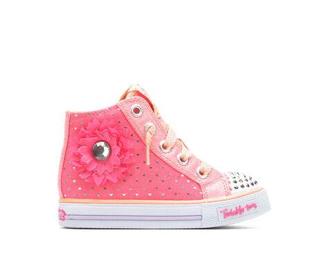 Girls' Skechers Inf Shuffles Bloom Bloom 5-10 Light-Up Shoes