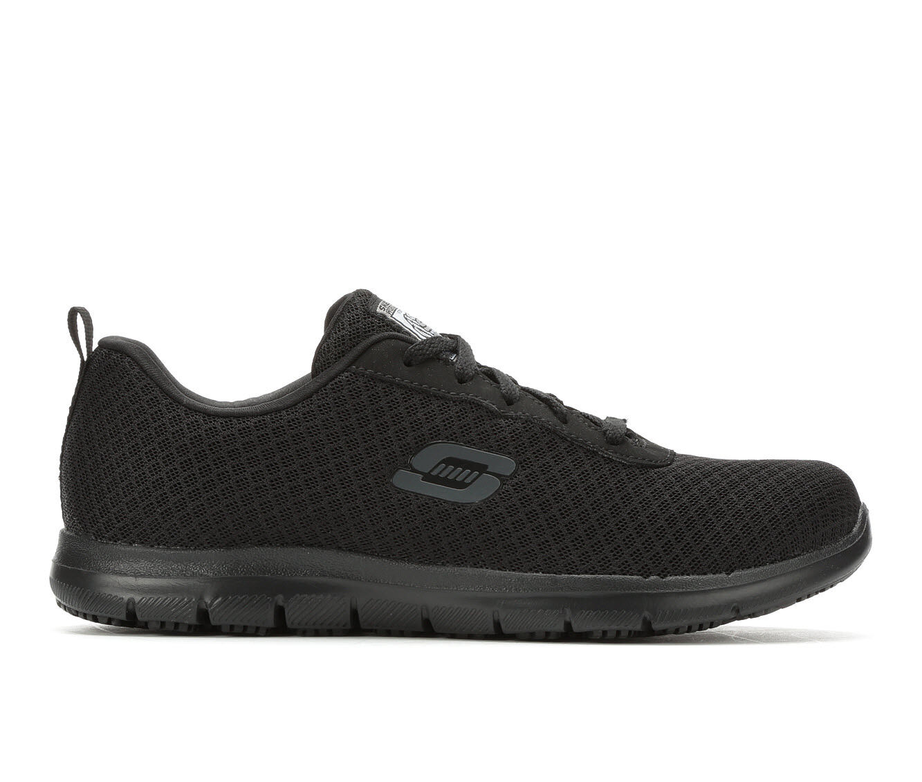 purchase latest Women's Skechers Work 77210 Bronaugh Slip Resistant Safety Shoes Black