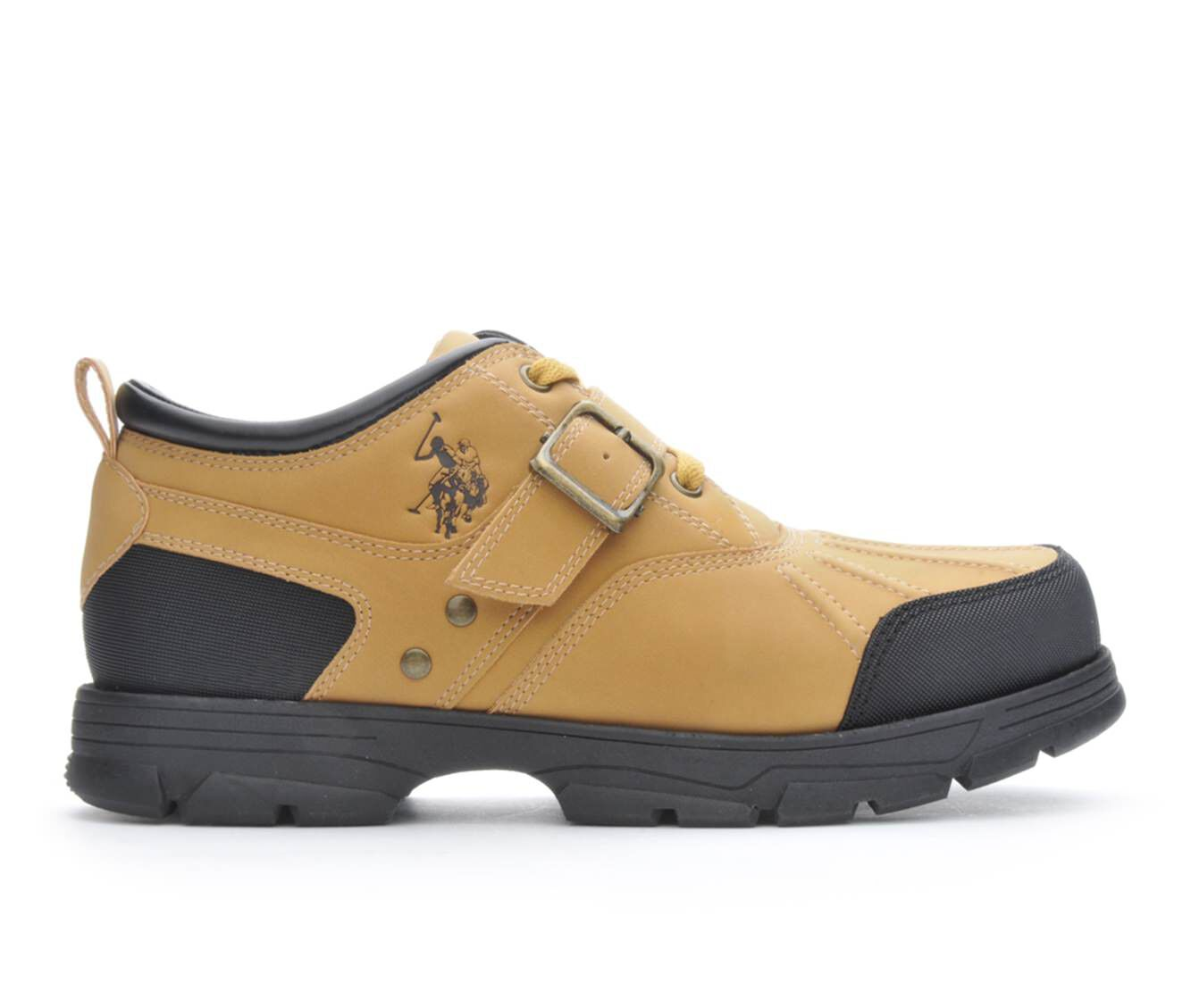 US Polo Assn Shoes  US Polo Assn Clancy II Mens Casual Shoes RedwoodBrown