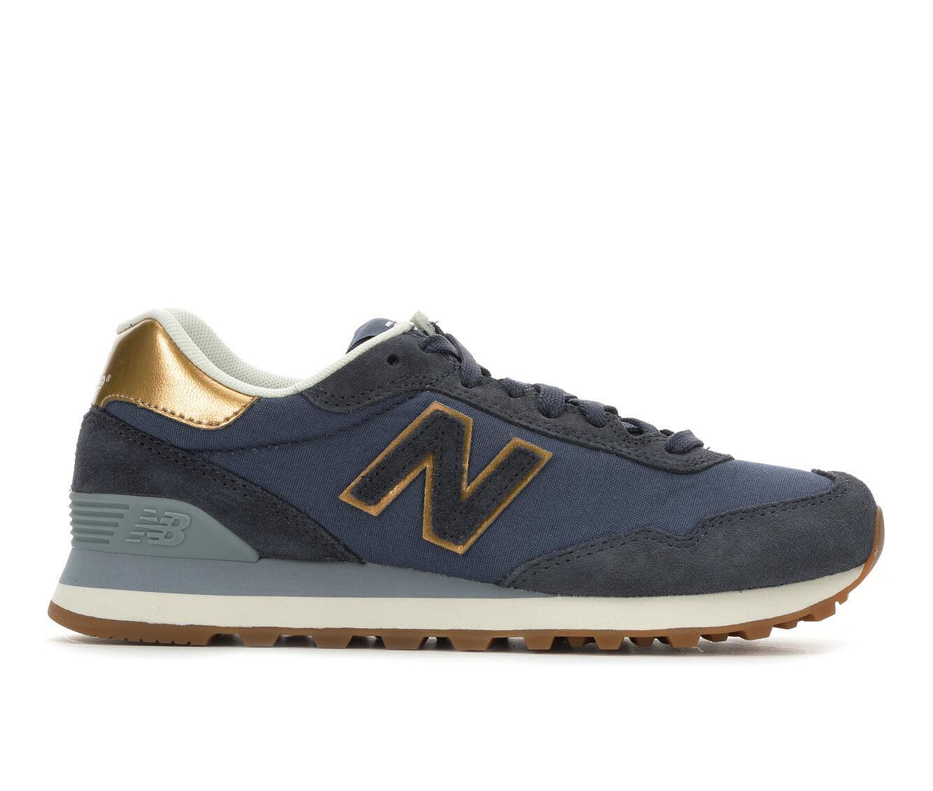 latest series Women's New Balance WL515 Retro Sneakers Indigo/Gold