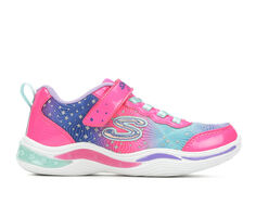 Girls' Skechers Little Kid Power Petals Stars Light-Up Shoes