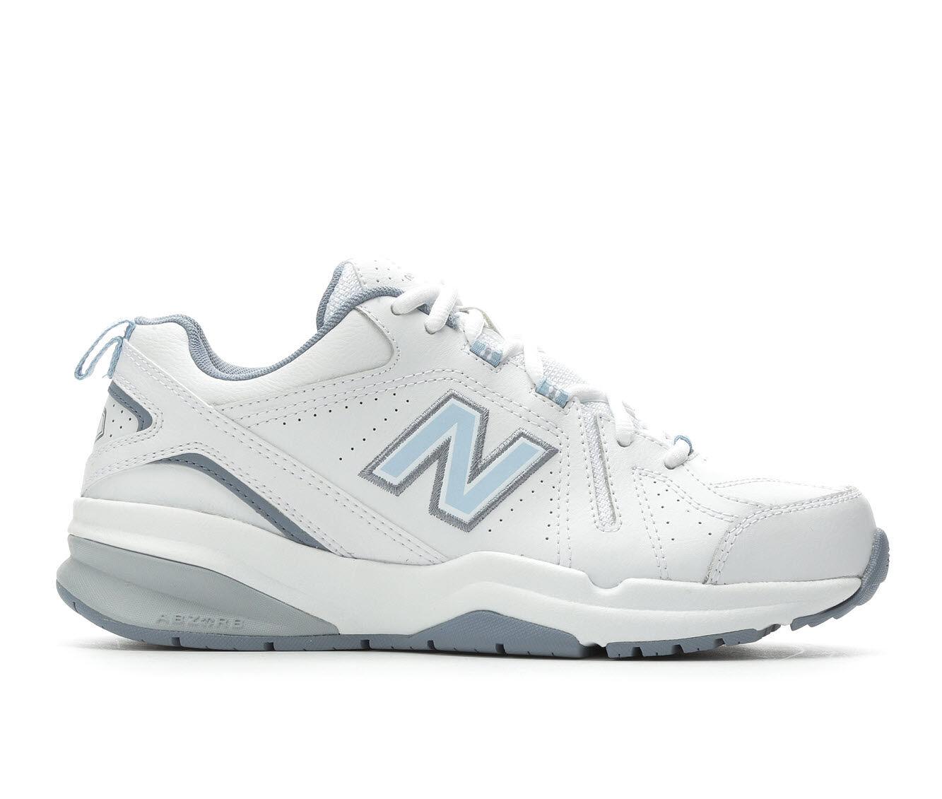Women's New Balance WX608V5 Training Shoes White/Lt Blue