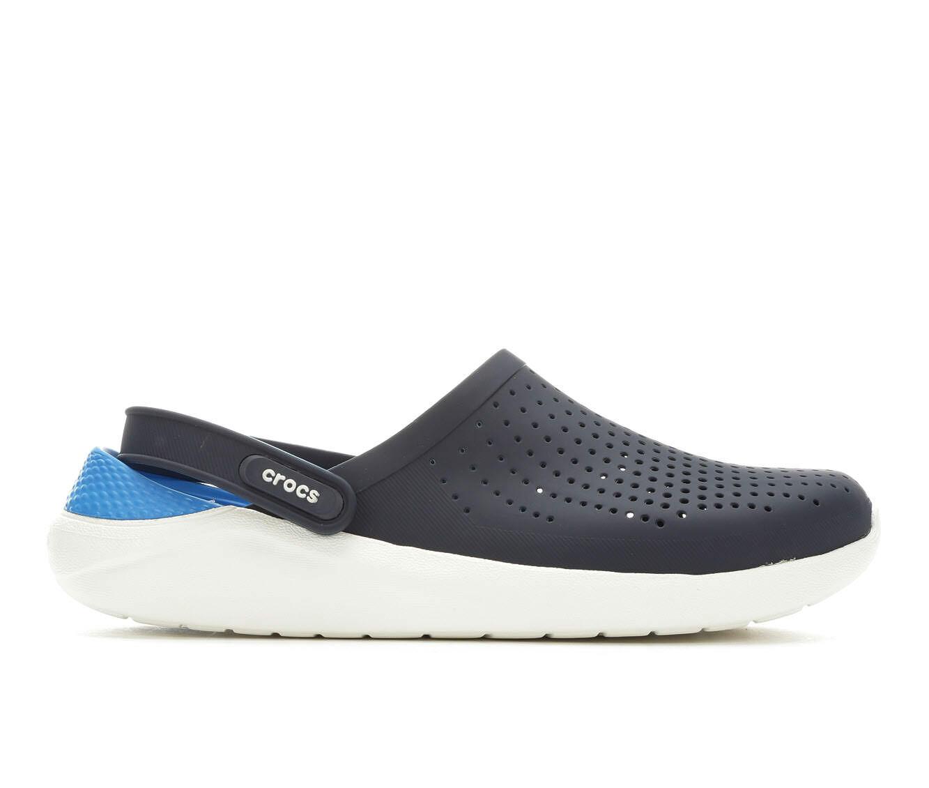 Men's Crocs LiteRide Clog Navy/White