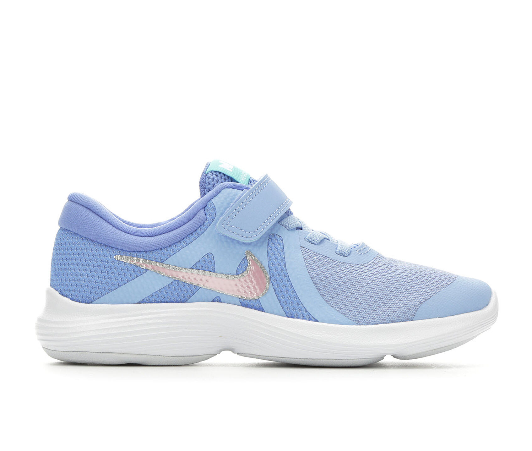 71c8fd33fa4a Girls  Nike Little Kid Revolution 4 Running Shoes