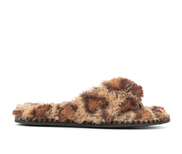 Dearfoams Pile Thong Woven Slippers