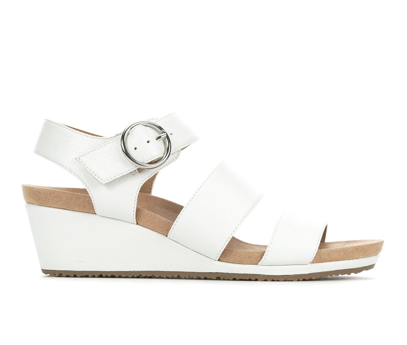 Women's LifeStride Muse Wedges White