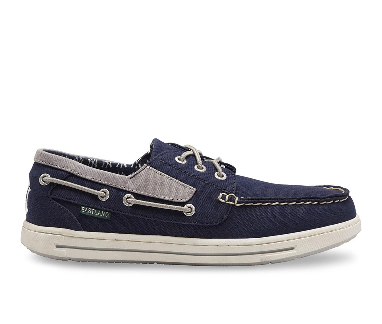 Men's Eastland Adventure MLB Yankees Boat Shoes Blue