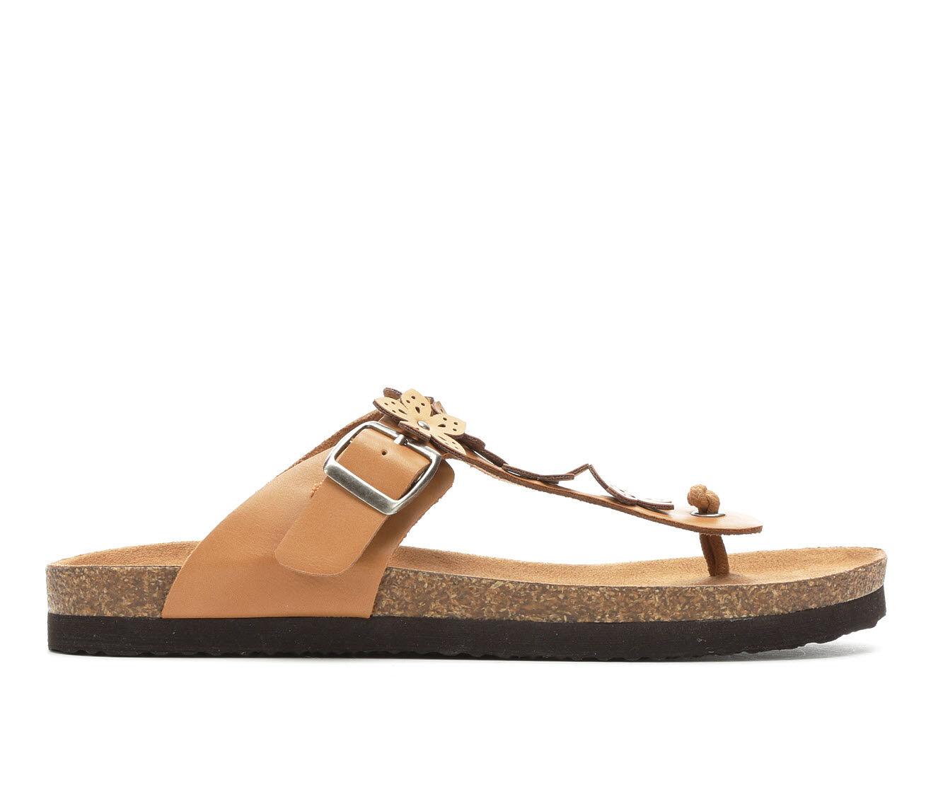 Women's Makalu Emma Footbed Sandals Dk Tan