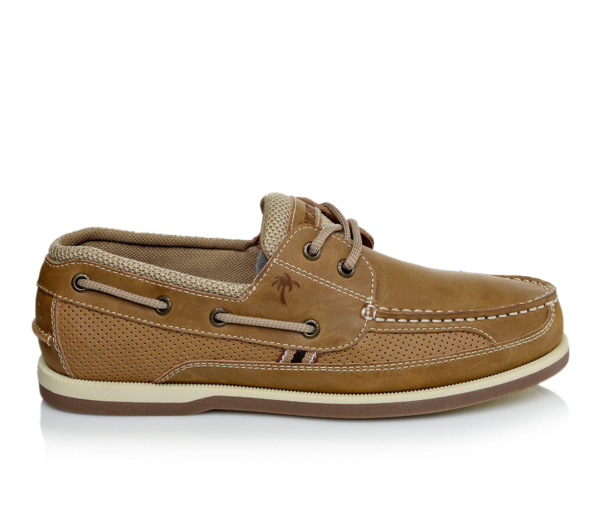 Men's Margaritaville Lighthouse Boat Shoes Tan
