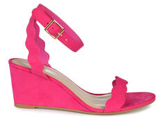 Women's Journee Collection Loucia Wedge Sandals