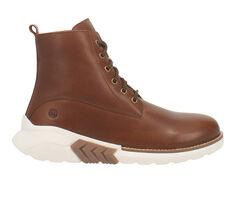 Men's Dingo Boot Black Top Lace-Up Boots