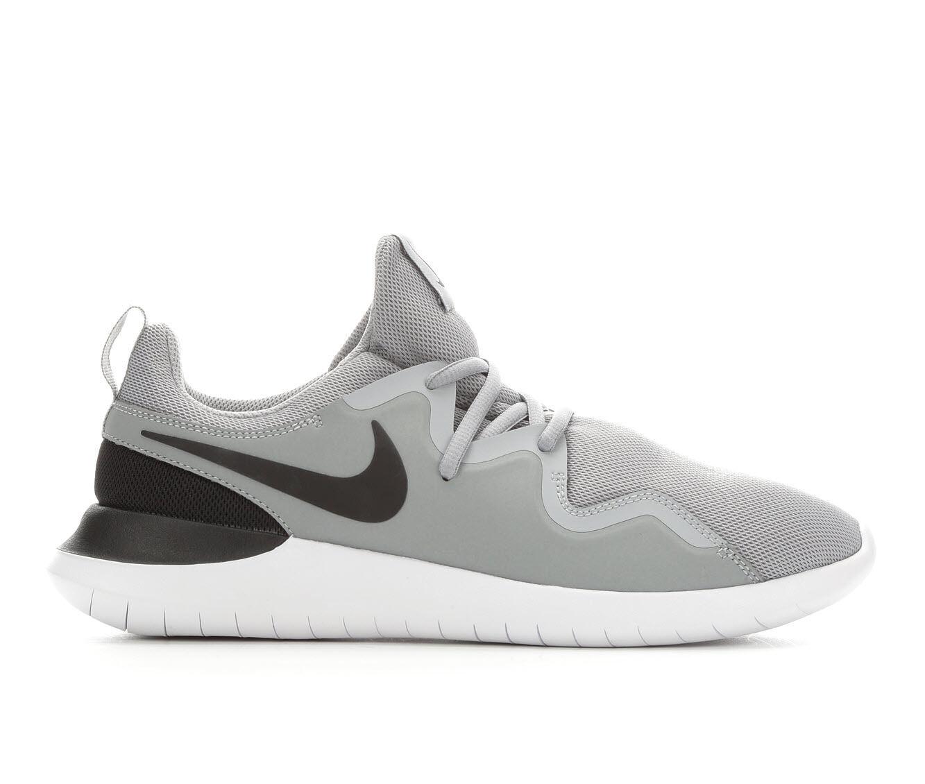 Men's Nike Tessen Sneakers Grey/Black/Whit