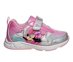 Girls' Disney Toddler & Little Kid CH89446C Minnie Mouse Light-Up Sneakers