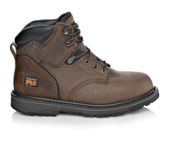 Men's Timberland Pro Pit Boss 6 Inch 33046 Soft Toe Work Boots