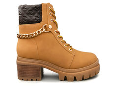 Women's Juicy Question Combat Boots