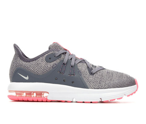 Girls' Nike Air Max Sequent 3 Girls 10.5-3 Running Shoes