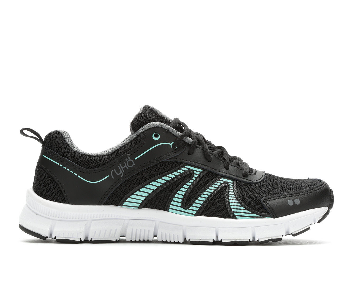 Superior Quality Women's Ryka Heather Training Shoes Black/Mint
