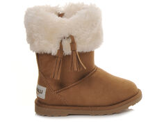 Girls' Makalu Toddler Iceland Faux-Fur Boots