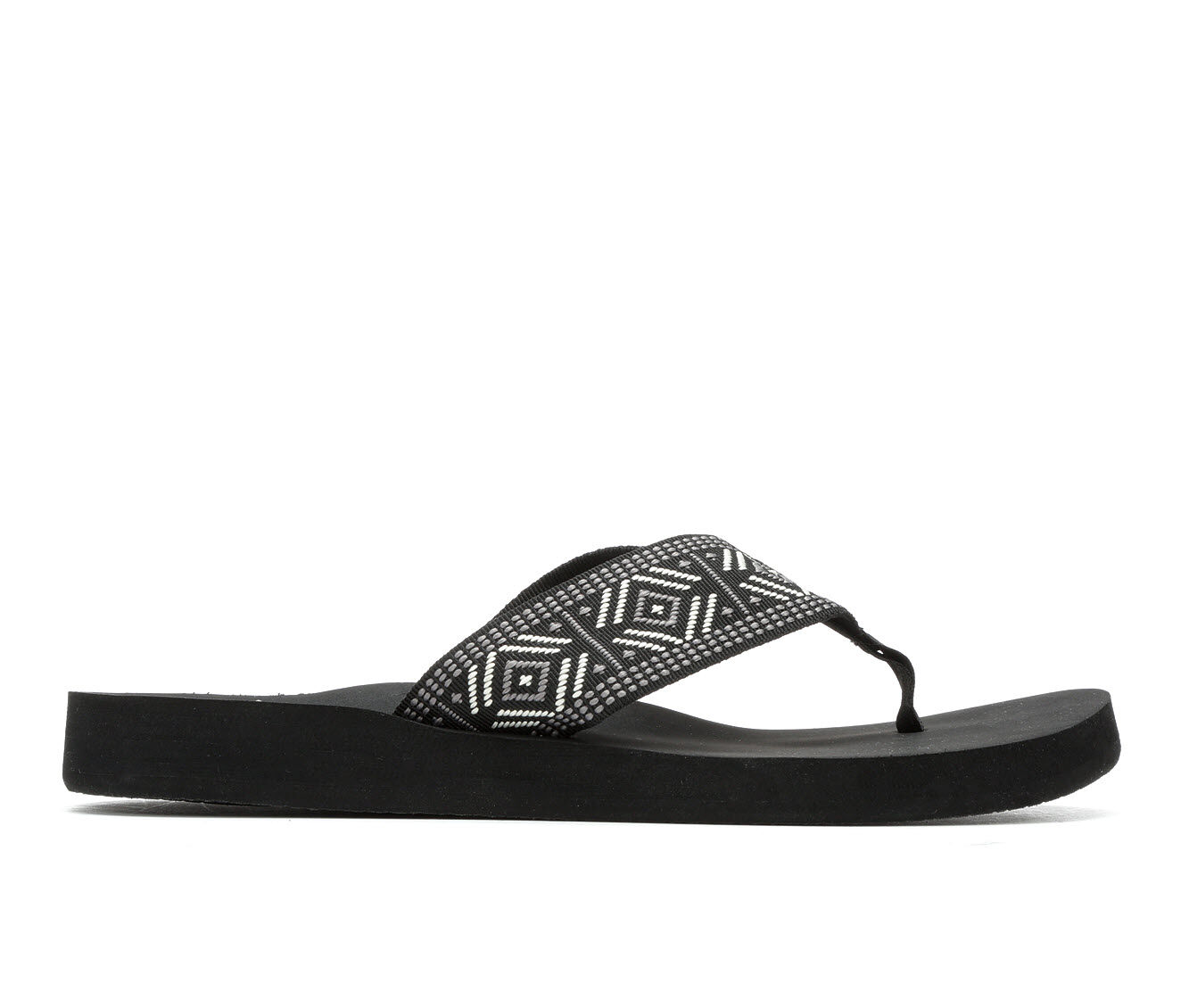 Women's Reef Reef Spring Woven Sandals Black/White