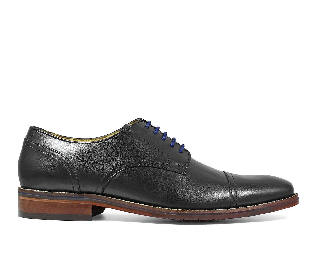 Men's Florsheim Salerno Cap Toe Oxford Dress Shoes Black