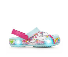Girls' Crocs Little Kid Funlab Unicorn Lights Light-Up Clogs